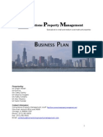 Cornerstone Property Management Business Plan