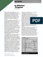 Designing an Efficient Perforating Program