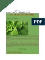 cultivo de orégano peru