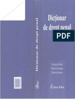 Dicţionar de Drept Penal - Al.boroi,M.gorunescu,M.popescu - 2004