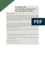 Lección 44 Técnica de Determinación de Fibra Detergente Neutra y Fibra Detergente Ácida
