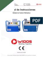 Maquina Soldadora de Plastico Obra Hasta de 630 Mm WI-CNC