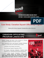 Squash Canada Club Referee Presentation