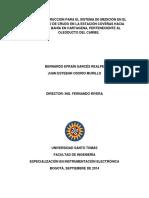 Diseno y Construccion Para El Sistema de Medicion en El Despacho de Crudo en La Estacion Covenas Hacia Puerto Bahia en Cartagena Perteneciente Al Oleoducto Del Caribe