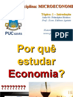 PUC - MICROECONOMIA - 2017.1 - 01 - INTRODUÇÃO