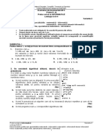 Proba E d Informatica C Sp MI Var 03