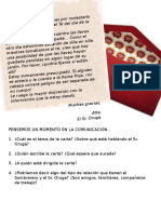 Carta - Comunicacion Diferida