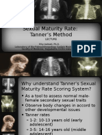 Sexual Maturity Rate Tanner's Method
