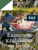Juan Cruz - Existencia y Nihilismo en Friedrich Jacobi