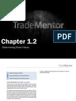 1 2 Determining Share Values