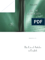 Andrusiak I.v. the Use of Articles in English