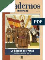 Cuadernos Historia 16, Nº 051 - La España de Franco