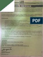 CRDB Bank Board Member Vacancy