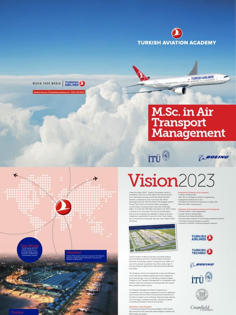Air Transport Management M sc  Program | Airlines