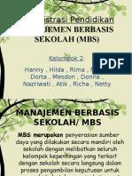 Ppt Manajemen Berbasis Sekolah - Copy