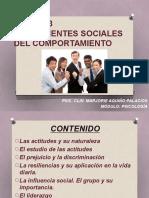 Unidad 3 Componentes Sociales Del Comportamiento