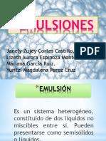 Emulsiones Alimentarias Parte 2