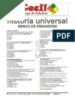 Hist. Universal - Bco de Preguntas 17