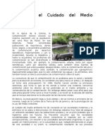 Bolivia y El Cuidado Del Medio Ambiente