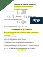 Compiti svolti geometria