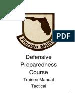 FLMDPC TraineeManual Tactical Rev 10 2016