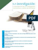 Archivos e Investigacon La Importancia d