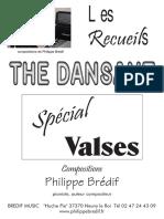 Sheets_Philippe Brédif - Recueil _ Thé Dansant Spécial Valses (67 Titres)