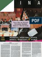 Chuida Wind and Percussion Ensembles CD Notes