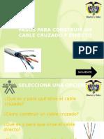 Pasos Para Construir Un Cable de Red