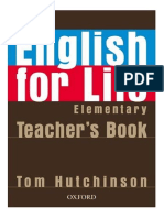 English For Life Pre-intermediate Students Book