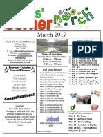 March 2017 Kids Corner