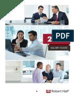 RobertHalf UK Salary Guide 2016