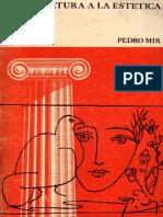 Pedro Mir - Apertura a La Estética