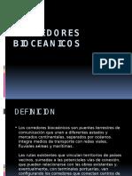 CORREDORES BIOCEANICOS