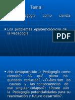 Pedagogía como ciencia.ppt