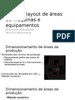 Analisar Layout de Áreas de Máquinas e Equipamentos
