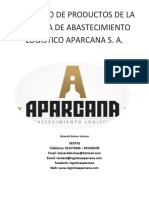 2017 Catalogo Aparcana Original