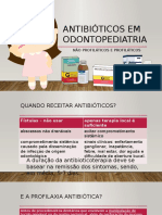 Antibioticoterapia em Odontopediatria