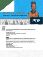 História da Rainha Jinga em ilustrações