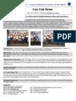 Cox News Volume 6 Issue 15
