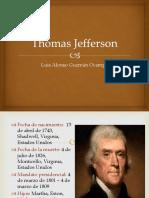 Unidad 3 Thomas Jefferson - Luis Alonso Guzmán Ocampo