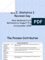S2 Revision Poisson