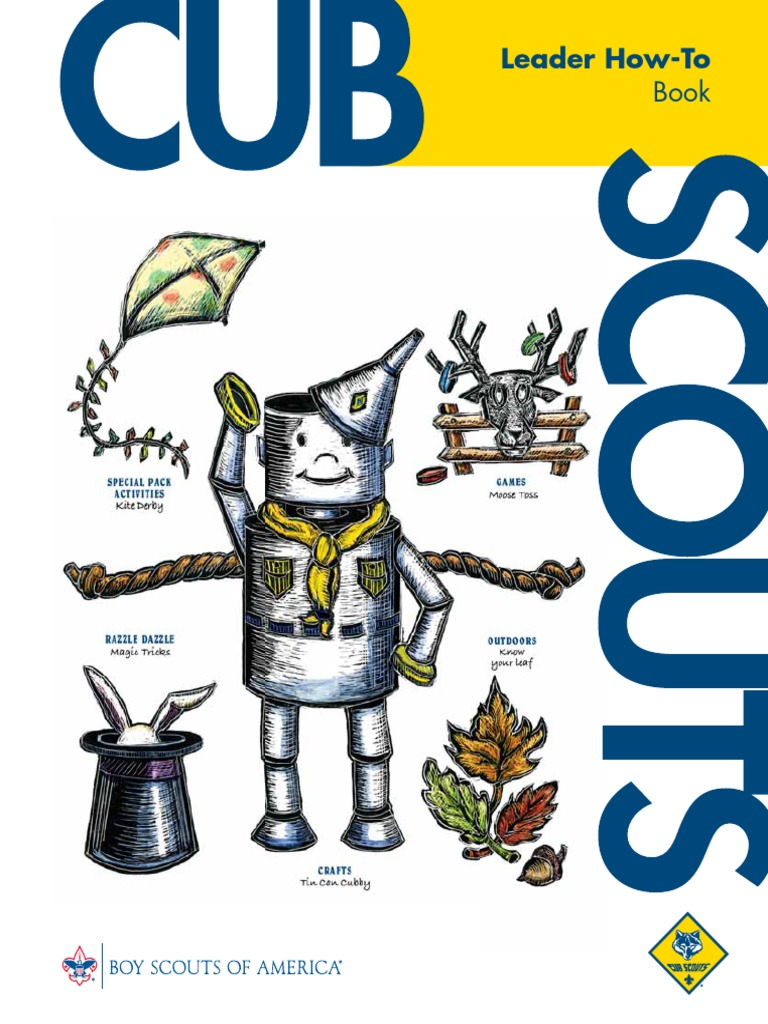 Leader How To Book 33832 Pdf Boy Scouts Of America Scouting