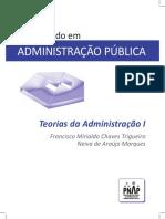 Livro Teorias Da Administracao I GRAFICA - Atualizado