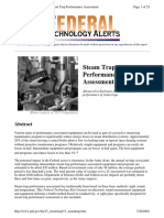 Steam Trap Performance Assessment