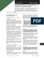 EN47 Extrait Fiches Pratiques Du Droit Du Travail Fiche 19-080 Editions-Tissot