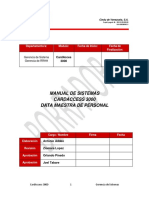 Manual CardAcces 3000 (Data Maestra de Personal)