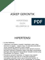 ASKEP GERONTIK