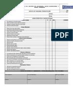 Check List Maquina Termofusion