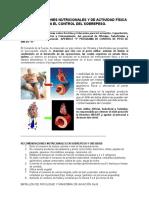 Recomendaciones Nutricionales en Sobrepeso y Obesidad